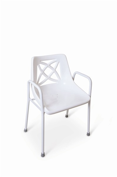 S30 Stackable utility shower chair – Fixed height