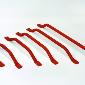 Red Forged End Grab Rails