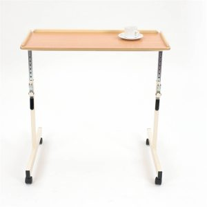 Table with beech top and creme frame