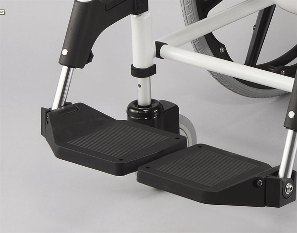 black footplates for chair
