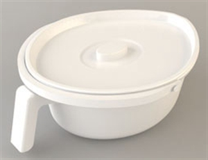 oval potty with lid
