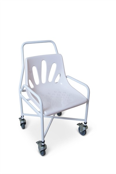 S33 Mobile utility shower chair – Fixed height