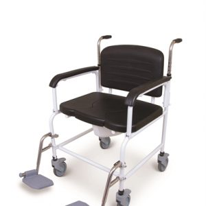 Stainless Steel bariatric toileting shower chair
