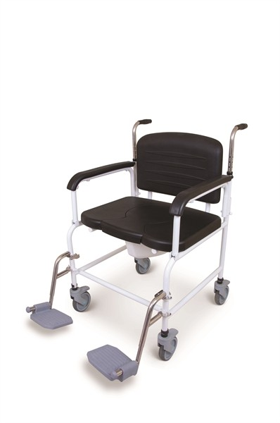 X499 Bariatric Toileting / Showering Chair Stainless Steel Version