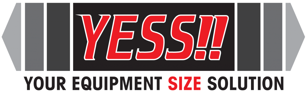 yess range logo (your equipment size solution)