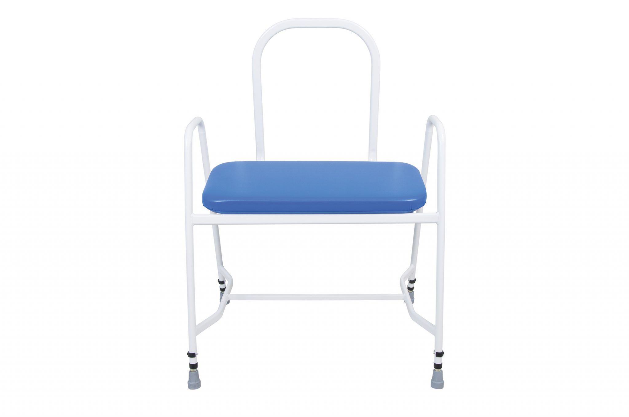 Pleasing X160 Bariatric Perching Stool With Steel Arms Back Machost Co Dining Chair Design Ideas Machostcouk