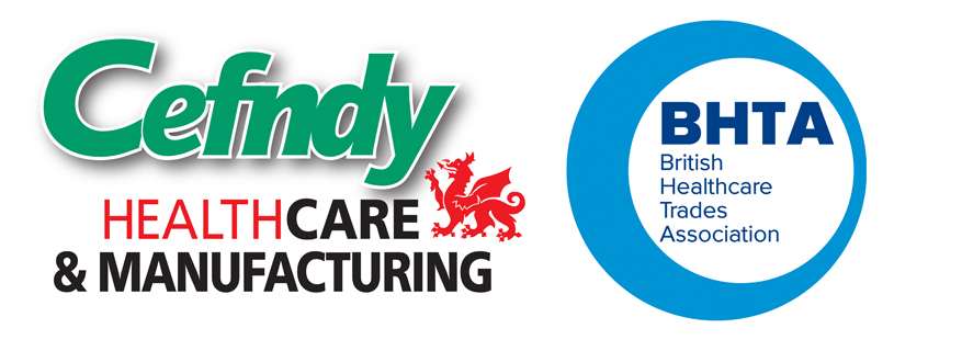 cefndy healthcare and bhta logo